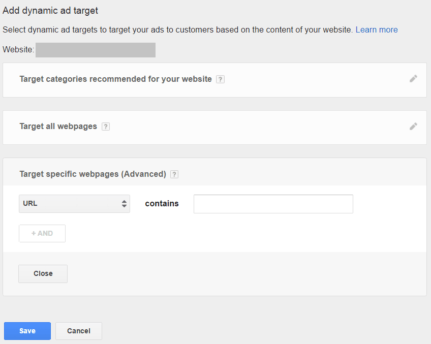 Adwords case study dynamic search ad settings